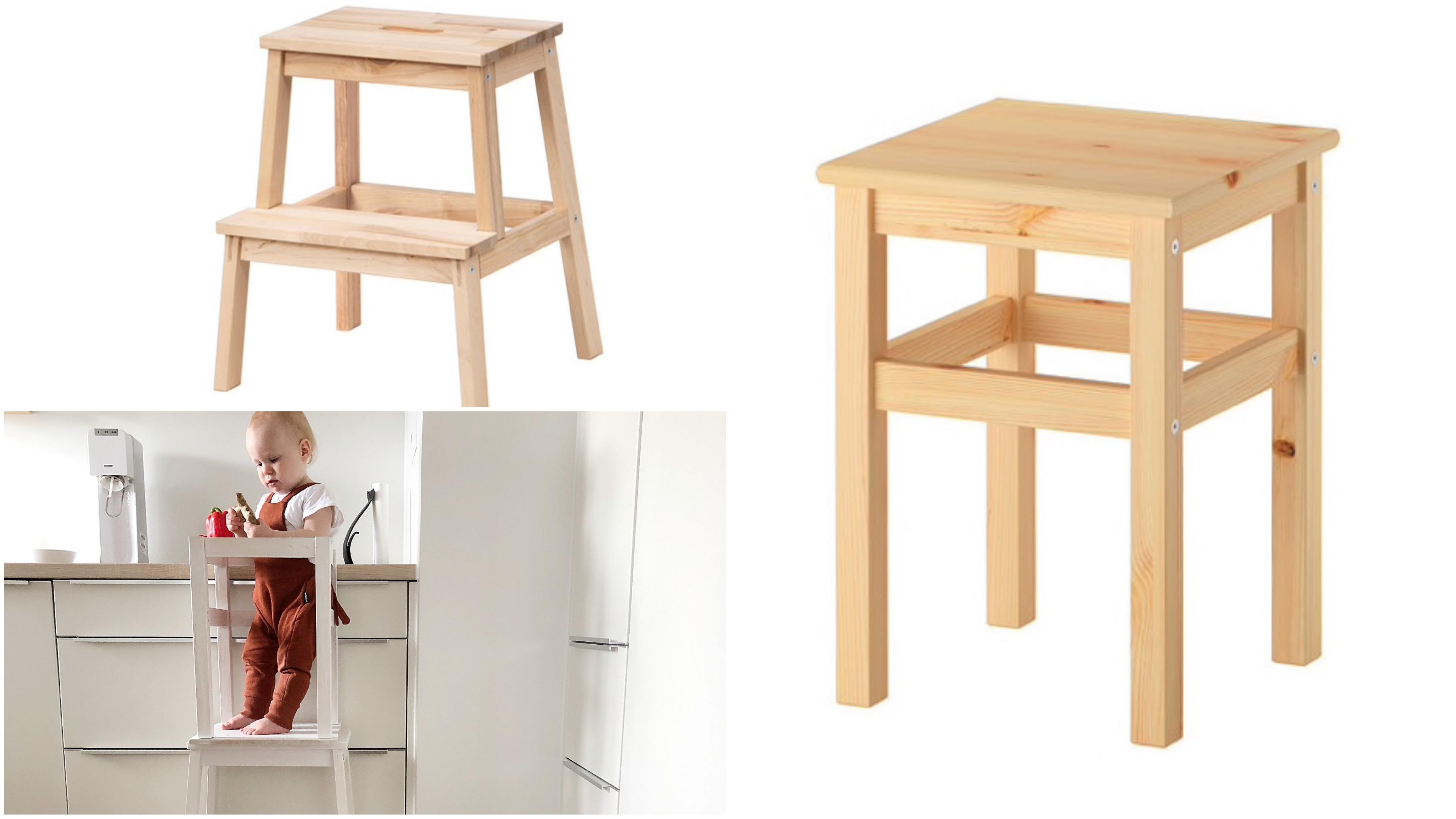 ikeahack, DIY, learning tower, keukenhulpje, peuters, stoel keuken peuter